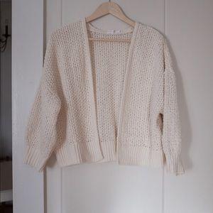 Gap Chenille Balloon Sweater